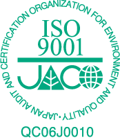 Our Narita Production Centre is an ISO 9001 quality management system certified factory.